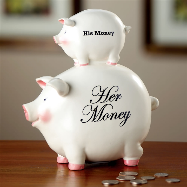 His And Hers Piggy Banks Cool Stuff To Buy Online From