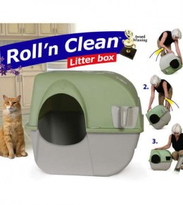 Self Clean Cat Litter Box
