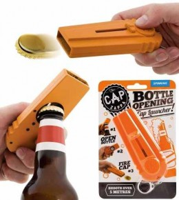 Bottle Cap Remover and Launcher