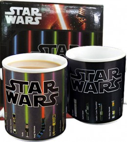 Star Wars Heat Change Lightsaber Mug