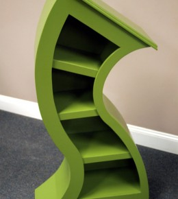 Handmade Curved Bookshelves