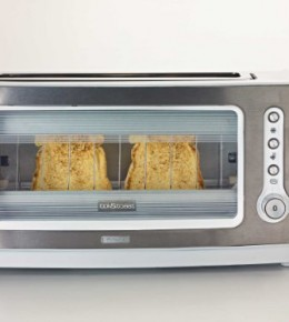Glass Fronted Toaster