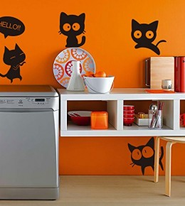Day of a Cat Removable Decals