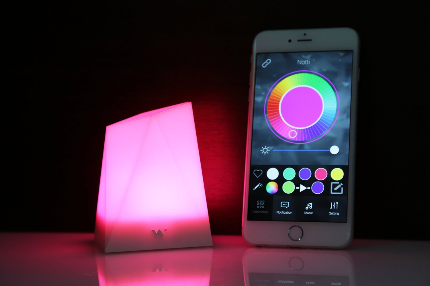 Smartphone Mood Light and More